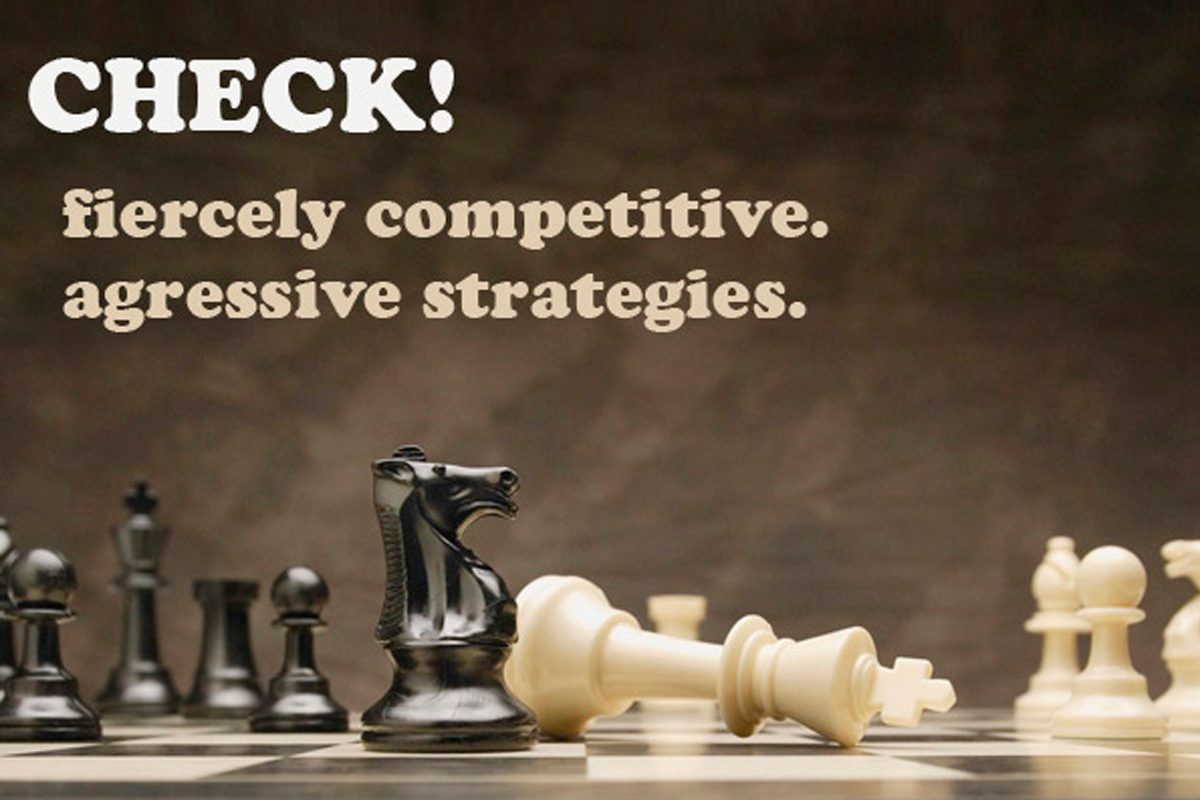Fiercely Competitive, Aggressive Social Media Strategies!