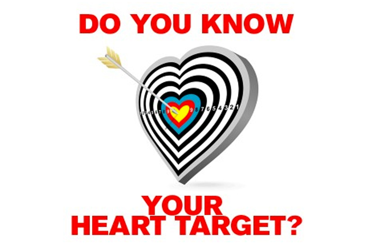 DO YOU KNOW YOUR HEART TARGET?