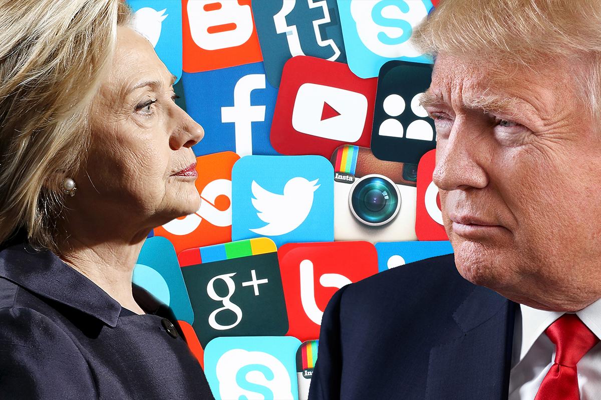 TRUMP VS. CLINTON – Who's Winning The Social Media Marketing Game?