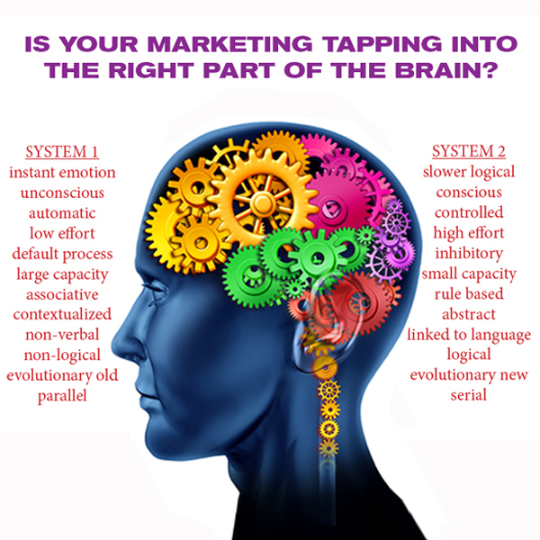 IS YOUR MARKETING TAPPING INTO THE RIGHT PART OF THE BRAIN? THE SECRET SAUCE TO MAKE CUSTOMERS PERK UP AND PAY ATTENTION!