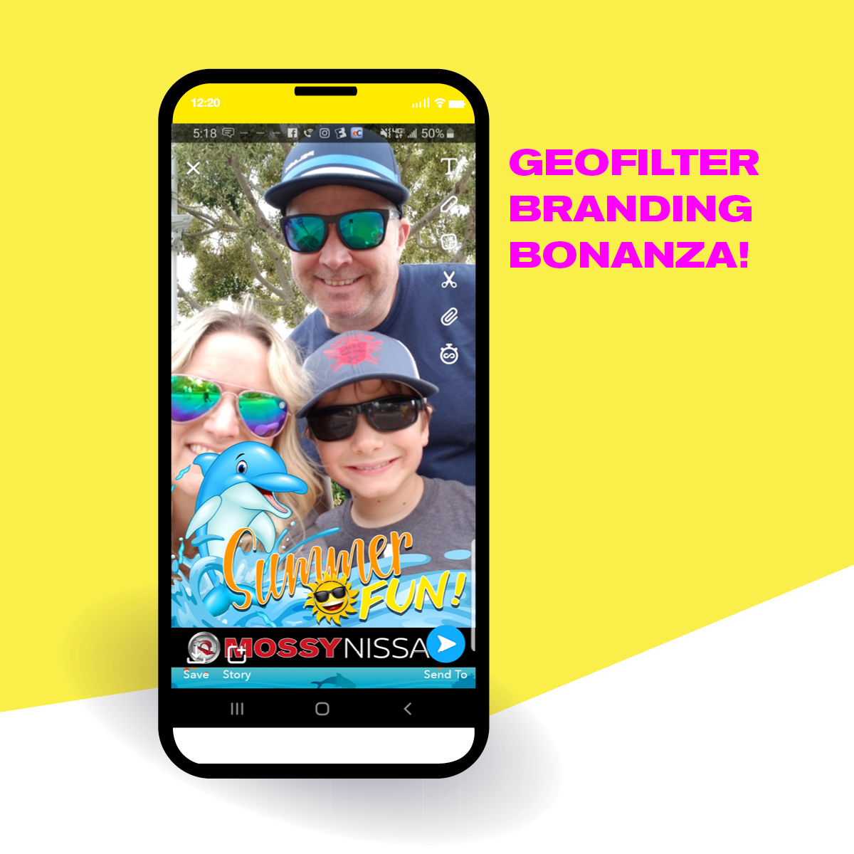 Snapchat Geofilters Can Increase Brand Awareness At An Unbelievably Low CPM!