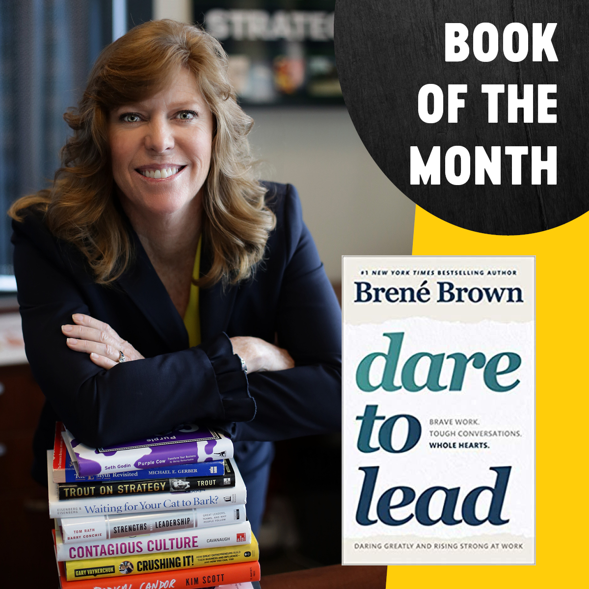AMS BOOK OF THE MONTH: DARE TO LEAD, By Brené Brown